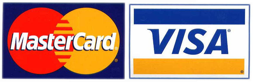 Image of a MasterCard and Visa Card